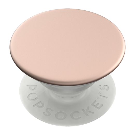 PopSockets PopGrip -pidike, Aluminum Rose Gold