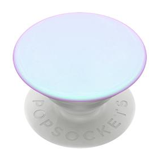 PopSockets PopGrip -pidike, Color Chrome Mermaid White