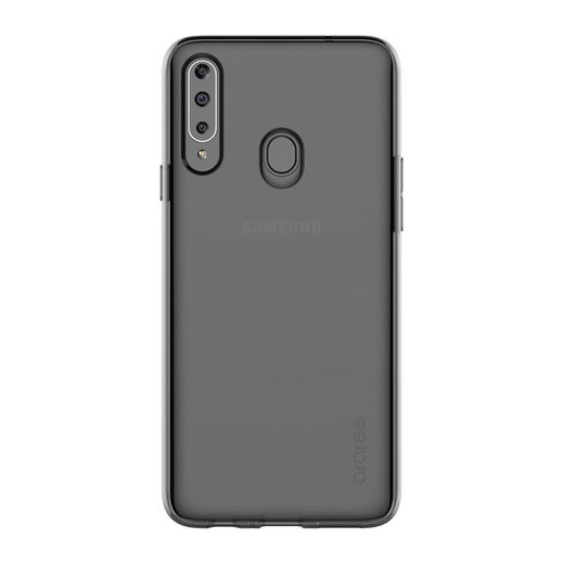 Samsung Galaxy A20S Protective Cover, Musta