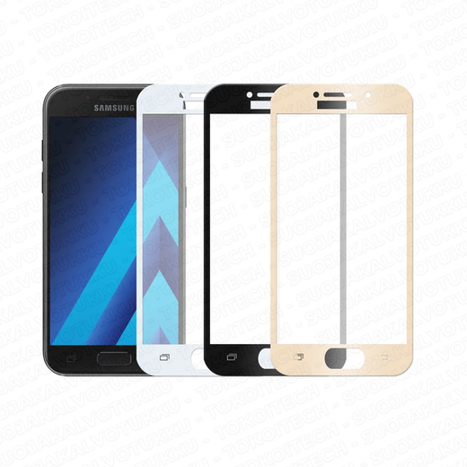Samsung Galaxy A3 (2017) panssarilasi, 2.5D Full Cover Tempered Glass
