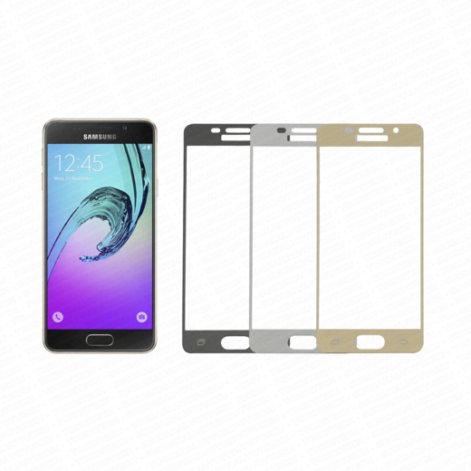 Samsung Galaxy A3 (2016) panssarilasi, 2.5D Full Cover Tempered Glass
