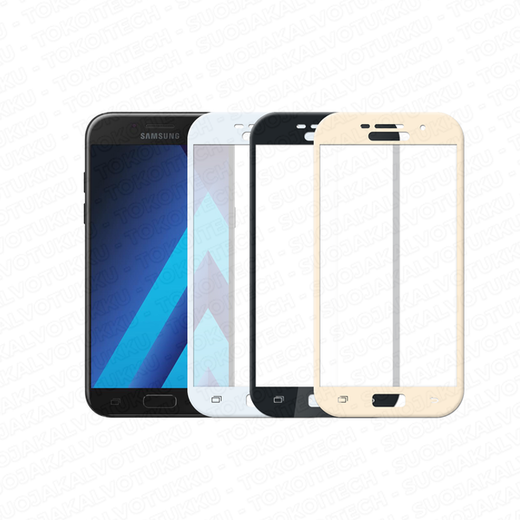 Samsung Galaxy A5 (2017) panssarilasi, 2.5D Full Cover Tempered Glass