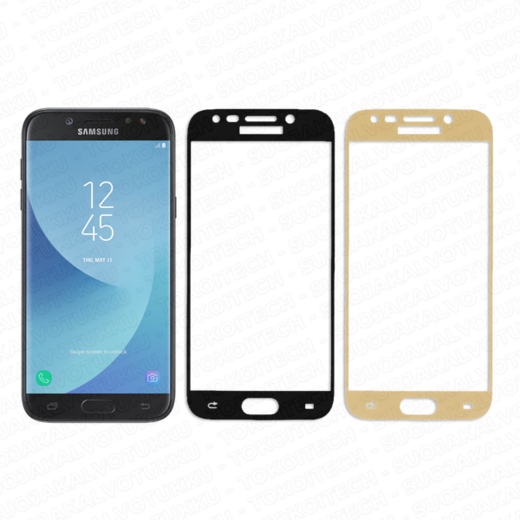 Samsung Galaxy J5 (2017) panssarilasi, 2.5D Full Cover Tempered Glass