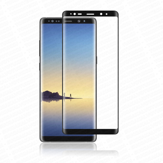 Samsung Galaxy Note8 panssarilasi, 3D Full Cover Tempered Glass