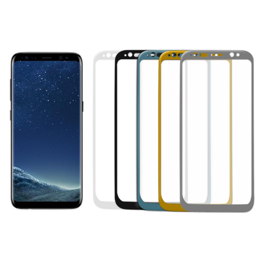 Samsung Galaxy S8 Plus panssarilasi, 3D Full Cover Tempered Glass