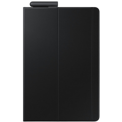 Samsung Tab S4 10.5 Book Cover -kuoret, Musta