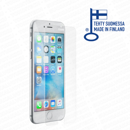 ScreenSavior iPhone 6/6S Premium panssarilasi, Tempered Glass