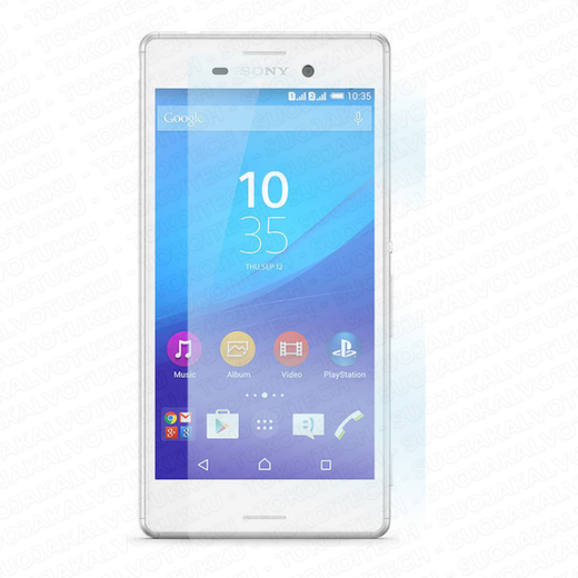 Sony Xperia M4 Aqua panssarilasi, Tempered Glass