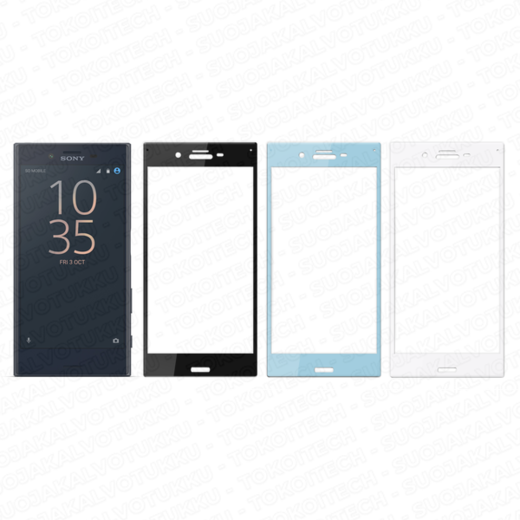 Sony Xperia X Compact panssarilasi, 3D Full Cover Tempered Glass