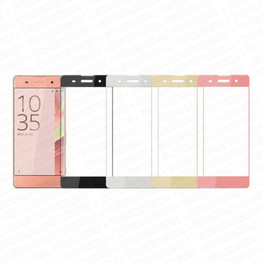 Sony Xperia XA panssarilasi, 3D Full Cover Tempered Glass