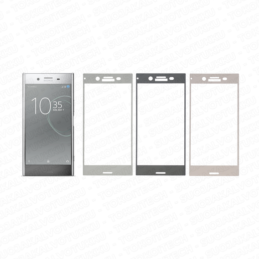 Sony Xperia XZ Premium panssarilasi, 2.5D Full Cover Tempered Glass