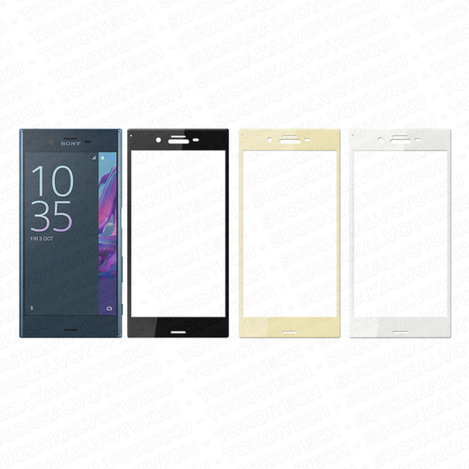 Sony Xperia XZ panssarilasi, 3D Full Cover Tempered Glass