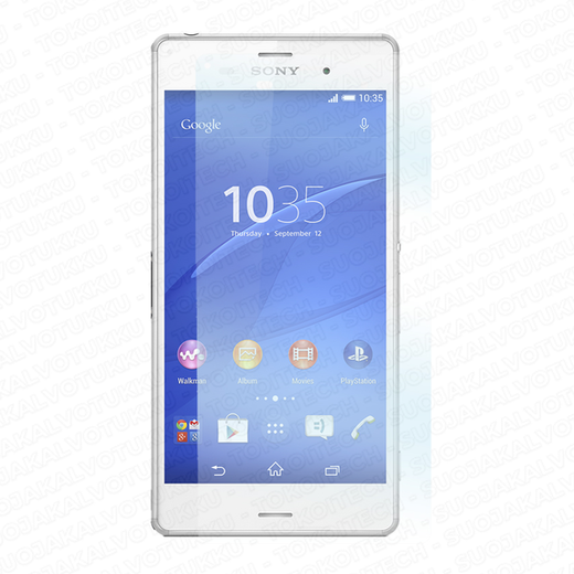 Sony Xperia Z3 panssarilasi, Tempered Glass