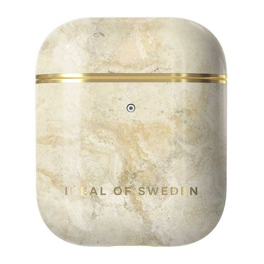 iDeal of Sweden Airpods 1 & 2 -suojakotelo, Sandstone Marble