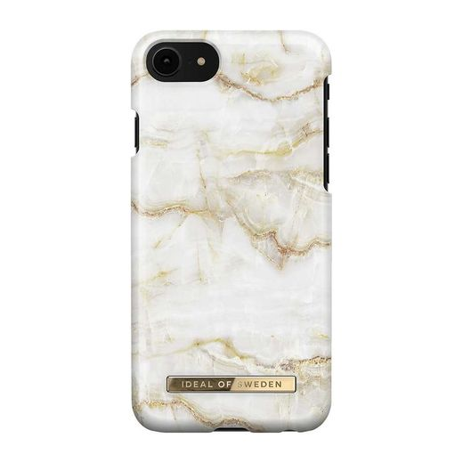 iDeal of Sweden iPhone 6/6S/7/8/SE 2020 Fashion Case, Golden Pearl Marble