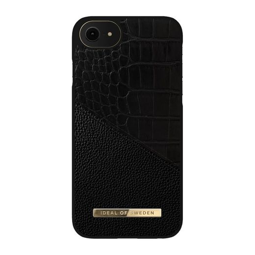 iDeal of Sweden iPhone 6/6S/7/8/SE 2020 Croco Fashion Case Atelier, Nightfall