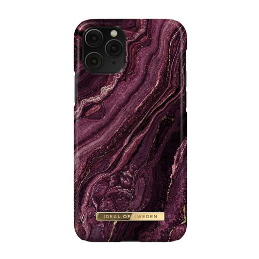 iDeal of Sweden iPhone 11 Pro / X / XS Fashion Case, Golden Plum