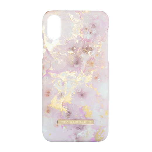 iPhone X/Xs Onsala Collection Fashion Edition -suojakuori, RoseGold Marble