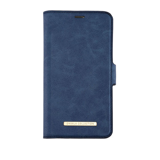 iPhone 12 / 12 Pro Onsala Collection Fashion Edition lompakkokotelo, Royal Blue